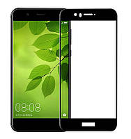 Защитное стекло Full screen PowerPlant для Huawei Nova 2, Black