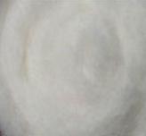 Шерсть для валяния Новозеландская кардочесанная (100 грамм) Белая К1001. Фелтинг. Вовна для валяння