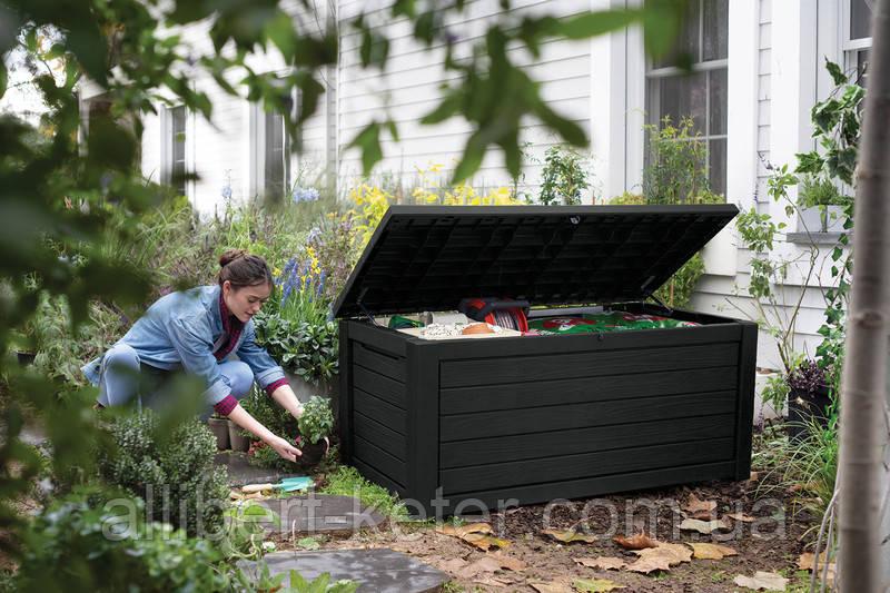 Садовый чулан, сундук для хранения Keter Northwood 630 L