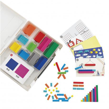 """Большой набор с карточками """"Счетные палочки Кюизенера"""" 231 эл. EDX Education"""