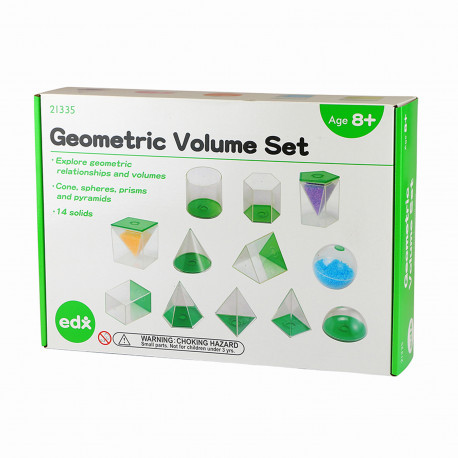 Набор геометрических фигур (14 шт) EDX Education