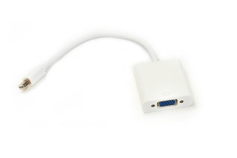 Кабель-перехідник PowerPlant Mini DisplayPort - VGA, 0.15 м