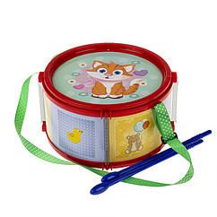 Барабан дитячий, маленький Colorplast 1-003