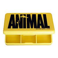 A_UN Пенал для таблеток Animal - черный