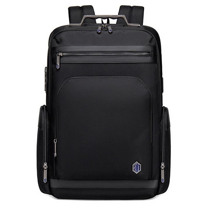 Дорожный рюкзак Arctic Hunter B00415, с двумя отделениями, USB портом, замком TSA и органайзером, 25л