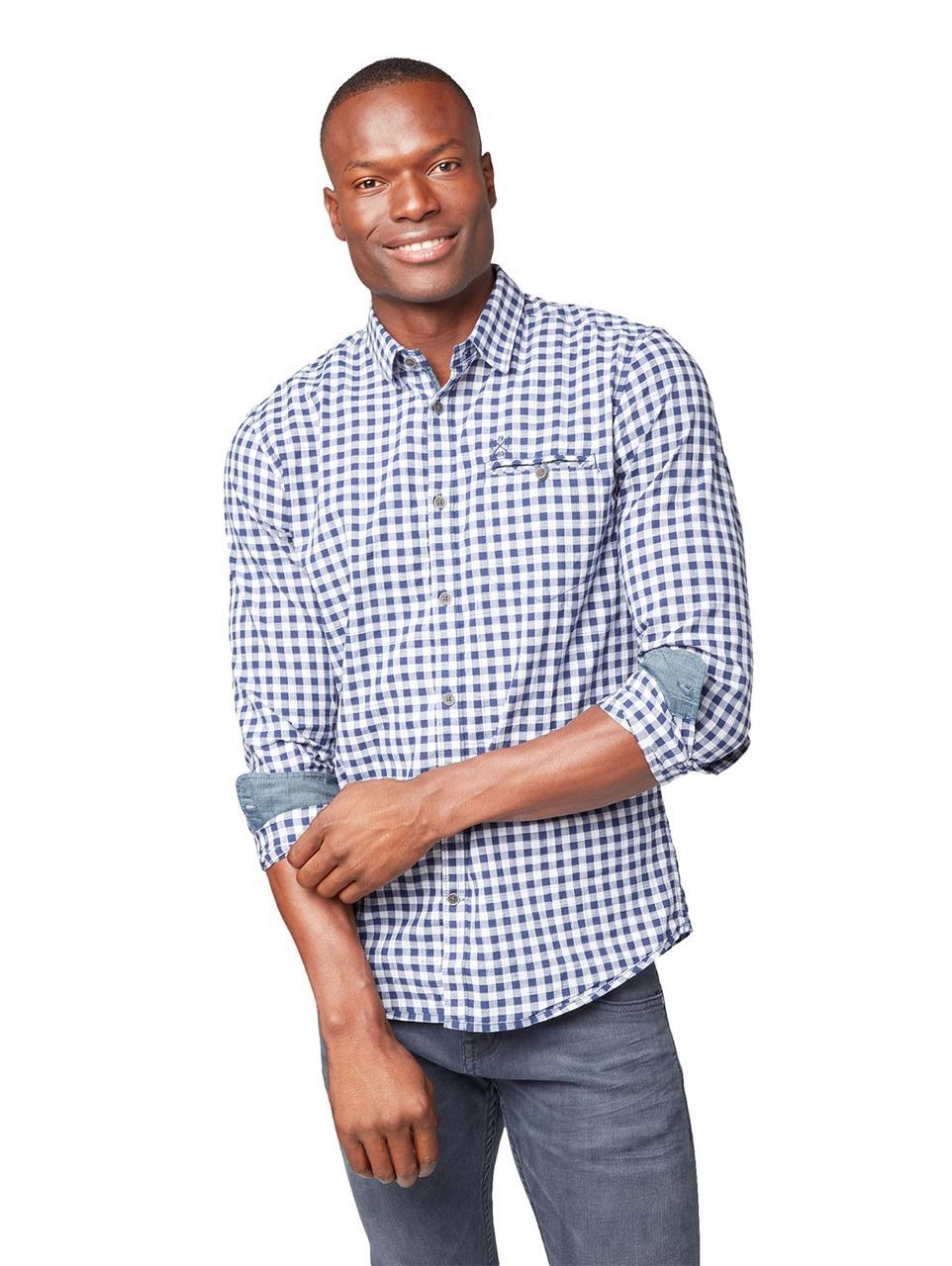 Рубашка Tom Tailor 1007342 XL Синий
