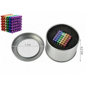 Головоломка Нео Куб 5 мм 216 шариков цветной Neocube 5738