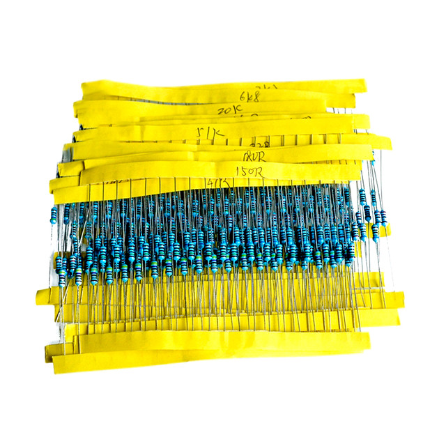Набор резисторов 600 шт. 1/4W номиналом 10R - 1mOm
