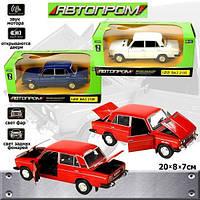 Машина металлическая ВАЗ 2106 Автопром