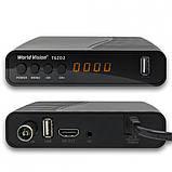 Ресивер World Vision T62D2 Цифровой эфирный DVB-C/T/T2 тюнер, фото 2