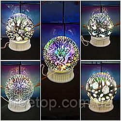 3D Светильник Магический шар Arivans (на выбор 5 цветов)