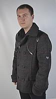 Чоловіче ділове пальто під костюм