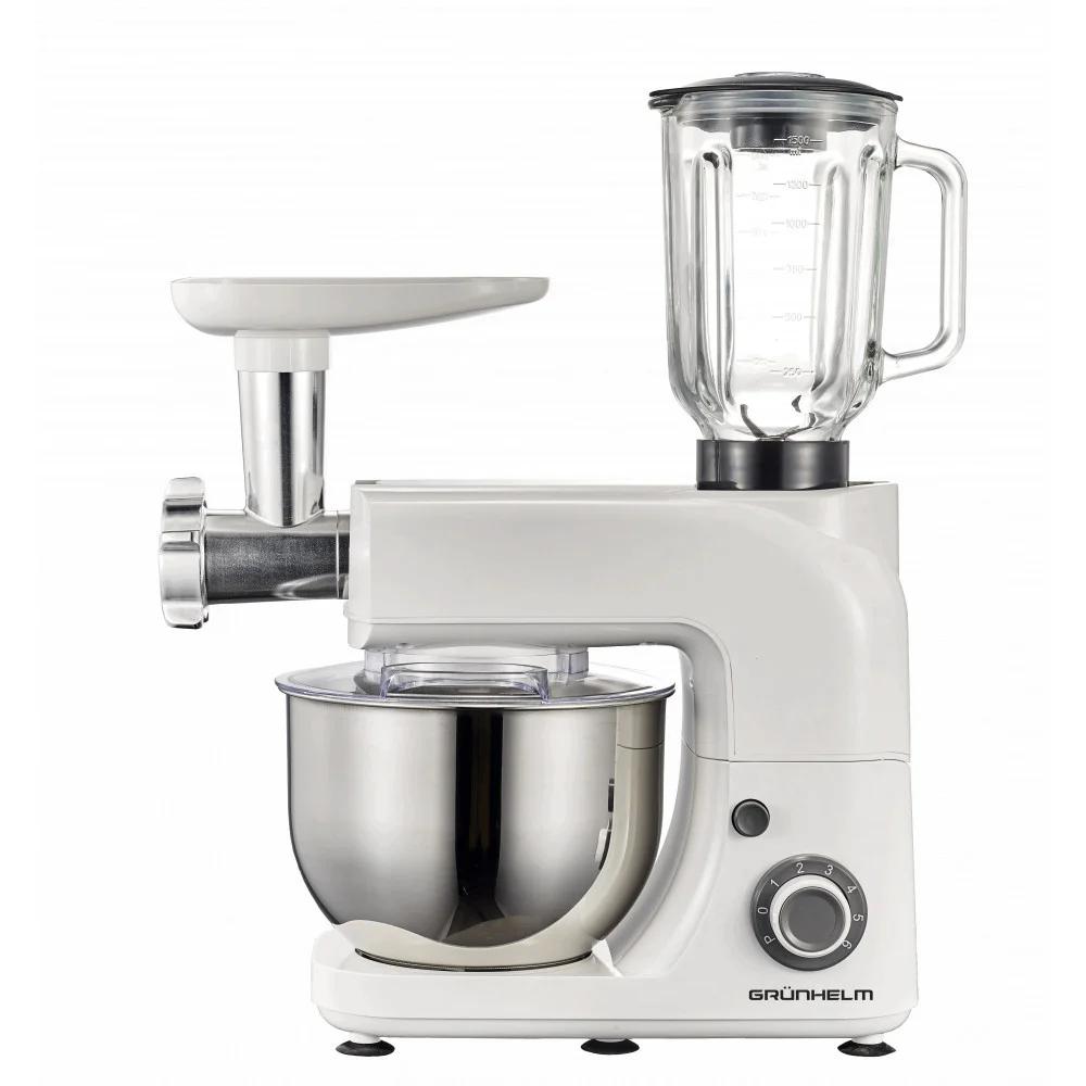 Кухонная машина Grunhelm GKM0020 1.8 кВт 6 скоростей