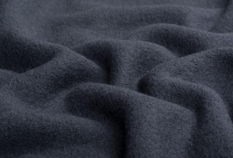Лоден шерсть темно-синий 70% шерсть.
