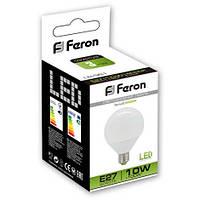 Светодиодная лампа Feron LB981 10W типа G95 для общего и декоративного освещения , фото 1