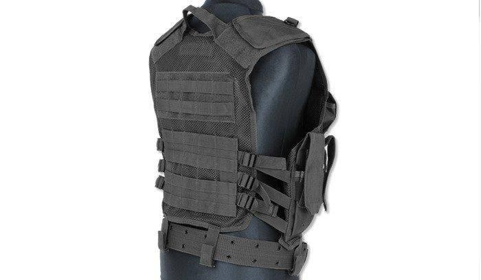 Mil-Tec - Tactical Vest - USMC - Black - 10720002, фото 2