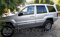 Ветровики на Jeep Cherokee II (KJ) 2001-2007/Liberty (KJ) 2002-2005