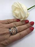 Комплект серебряных украшений Графиня от Ирида-В, фото 3