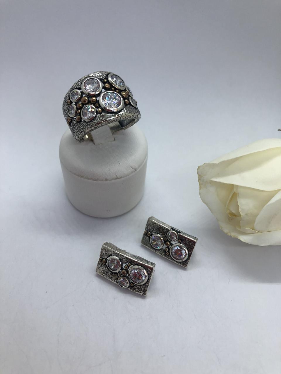Комплект серебряных украшений Ланфорд от Ирида-В