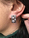 Комплект серебряных украшений Ланфорд от Ирида-В, фото 3