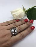 Комплект серебряных украшений Ланфорд от Ирида-В, фото 4
