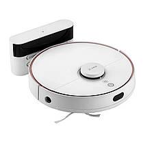 Умный робот-пылесос 360 Robot Vacuum Cleaner S7 White с влажной и сухой уборкой, фото 2