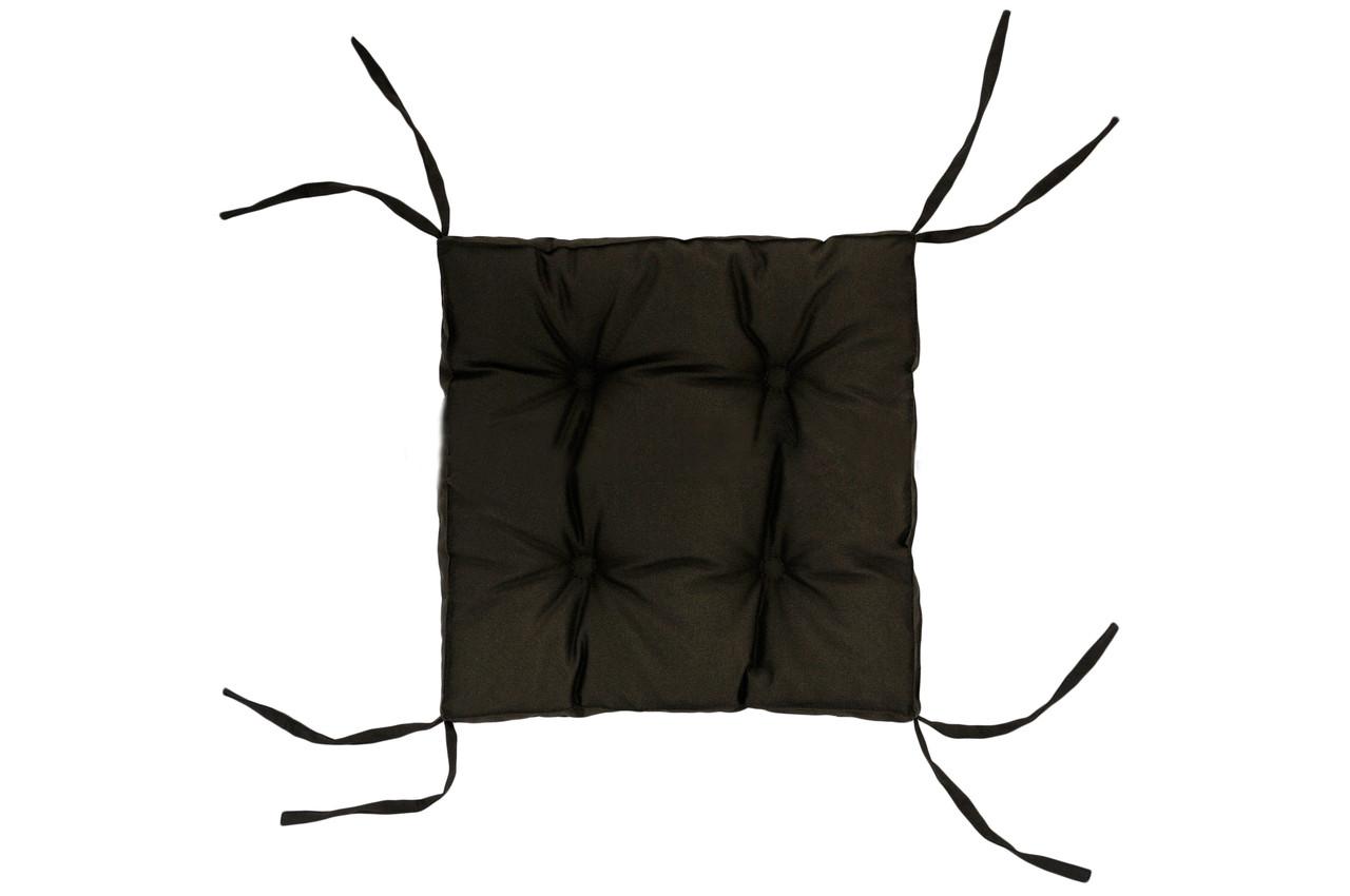 Подушка на стул DOTINEM COLOR коричневая 40х40 см (213109-1)