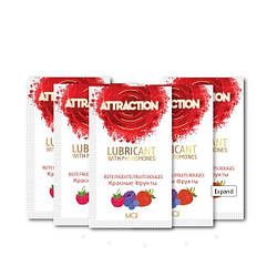 Пробник лубриканта с феромонами MAI ATTRACTION LUBS RED FRUITS (10 мл) 18+