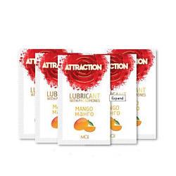 Пробник лубриканта с феромонами MAI ATTRACTION LUBS MANGO (10 мл) 18+