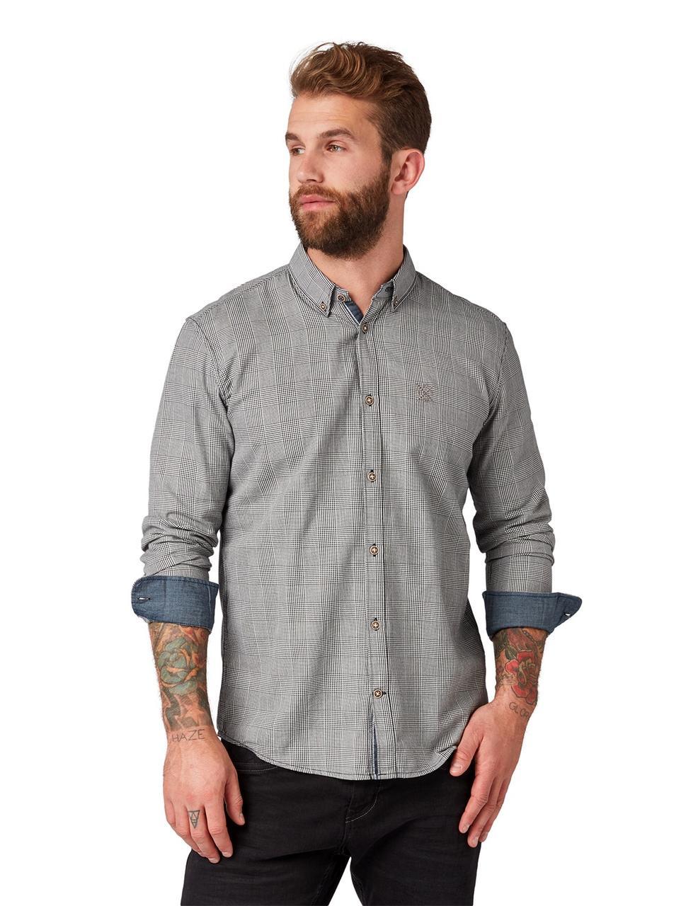 Рубашка Tom Tailor 1007929 M Серый