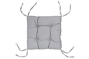 Подушка на стілець DOTINEM COLOR сіра 40х40 см (213109-3)