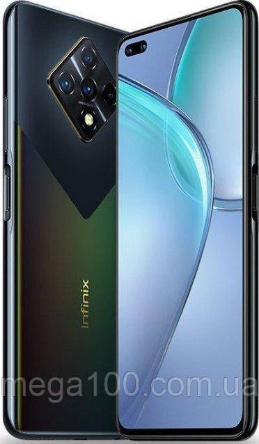 Смартфон Infinix zero 8 цвет черный (экран 6,85 дюймов, памяти 8\128ГБ акб 4500 мАч)