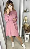 Вельветовое платье 26-433, фото 3
