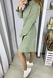 Вельветовое платье 26-433, фото 8