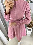 Вельветовое платье 26-433, фото 7