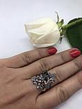 Комплект серебряных украшений Ливистона от Ирида-В, фото 3