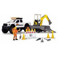 Игровой набор Dickie Toys Плейлайф. Строительство дороги со звук. и свет. эффектами (3838004)