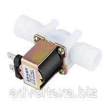 DC 12V Електричний електромагнітний клапан для води, повітря 1/2