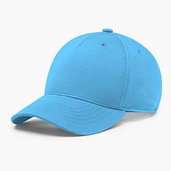Бейсболка без логотипа INAL basic S / 53-54 RU Голубой 204753