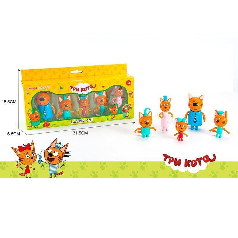 """Герои коты """"Lovely Cat"""" в наборе 5 героев, в коробке M 8811"""