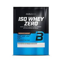 Сывороточный протеин изолят BioTech Iso Whey Zero (25 г) биотеч изо вей зеро cookies & cream