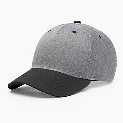 Бейсболка без логотипа INAL basic S / 53-54 RU Серый 286853
