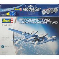 Сборная модель Revell Космический корабль Spaceshiptwo & Carrier White Knight Two (64842)