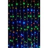 Светодиодная гирлянда штора Проточная вода 360 LED 2 х 1,5 метра, фото 2