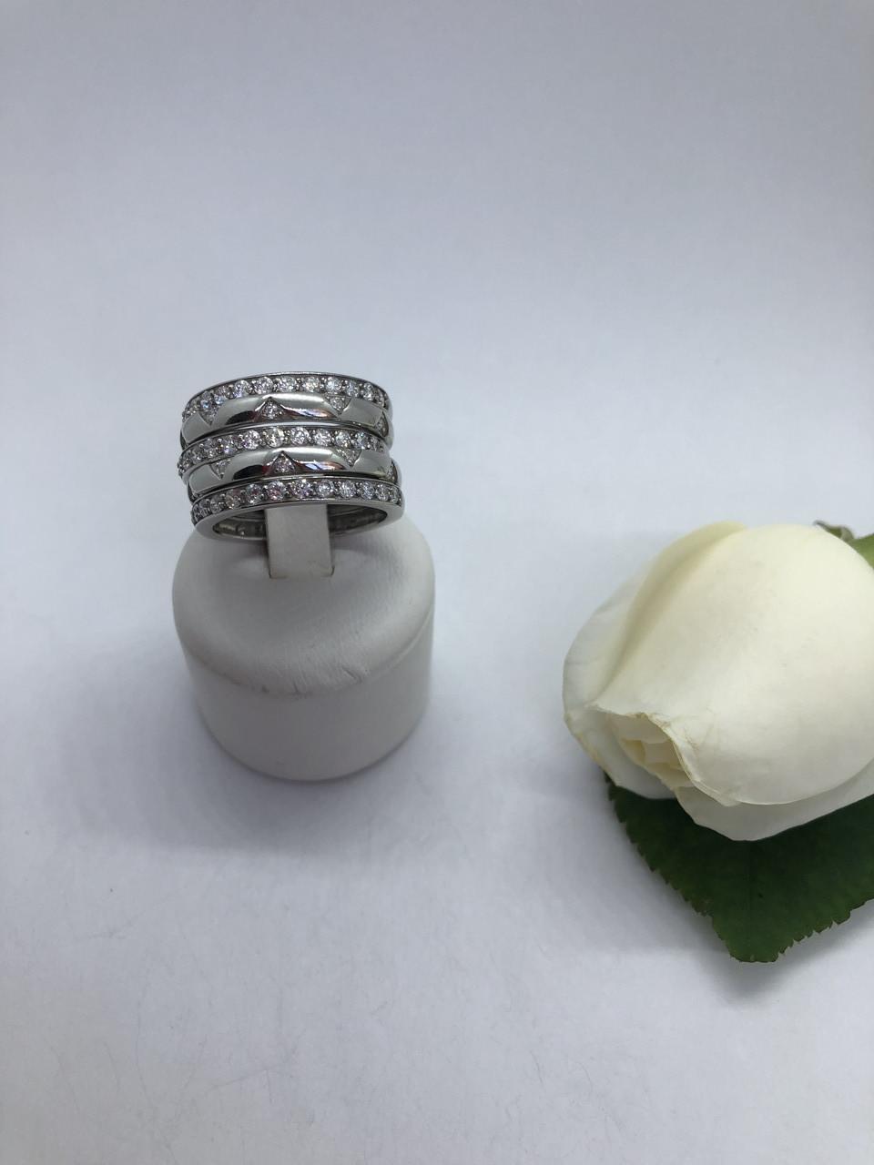 Серебрянное кольцо Мириада от Ирида-В