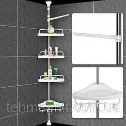 Полиця для ванної кімнати Aidesen Multi Corner ADS-188 , кутова, телескопічна етажерка