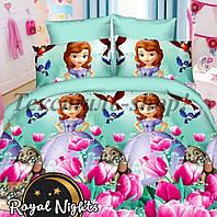 Постельный комплект для девочек принцесса София ранфорс