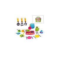 Детская кухня и посуда игрушечная Технок Кухонный набор в чемодане от 3 лет