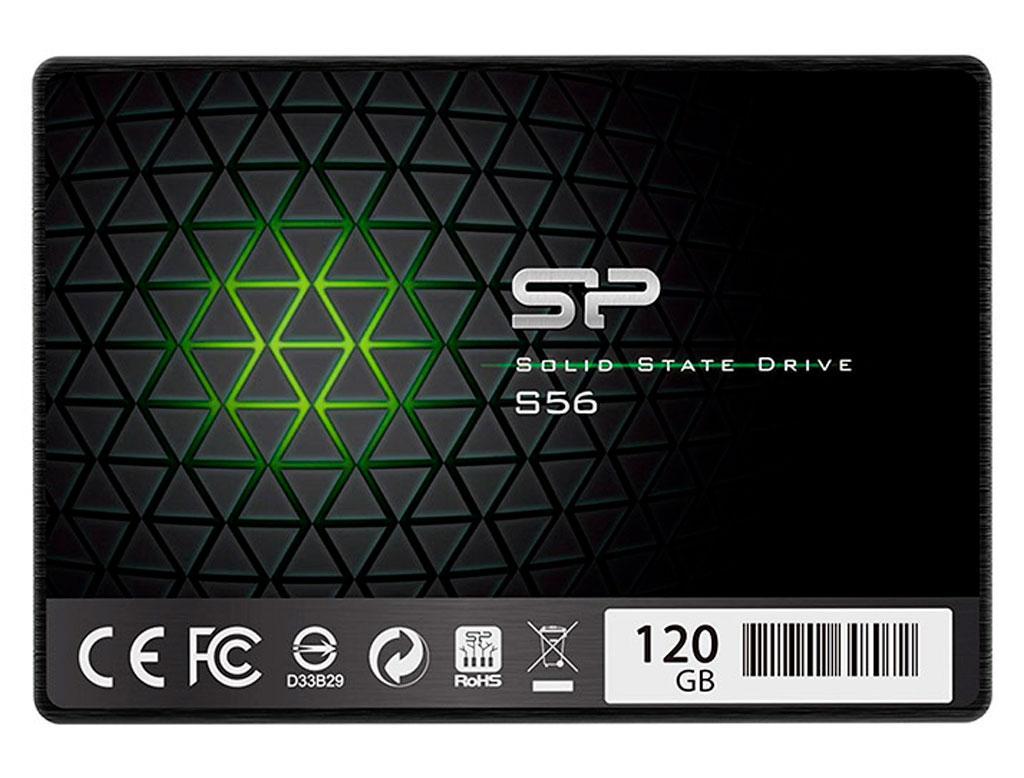 """Накопитель SSD 2.5"""" 120GB Silicon Power S56 (SP120GBSS3S56B25)"""