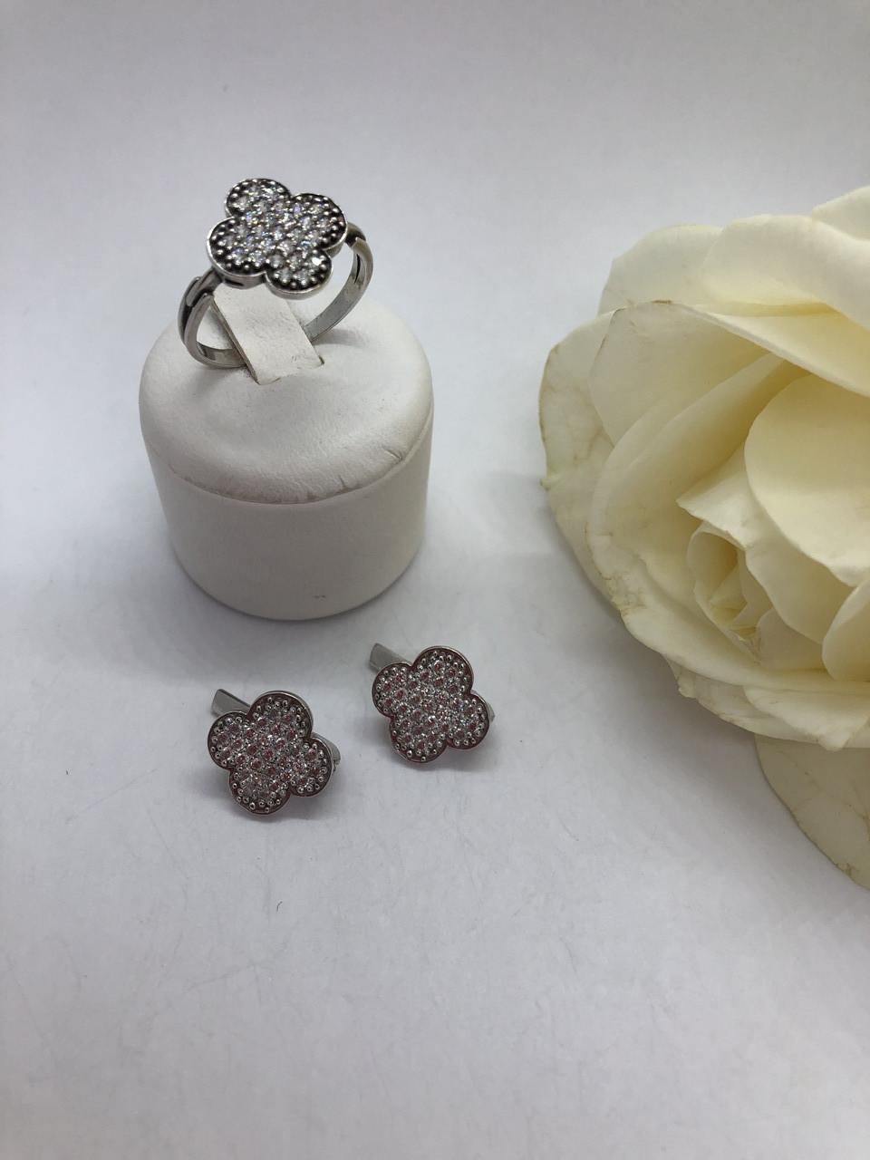 Комплект серебряных украшений Новое Очарование от Ирида-В